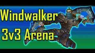 Windwalker Monk 3v3 Arena #2