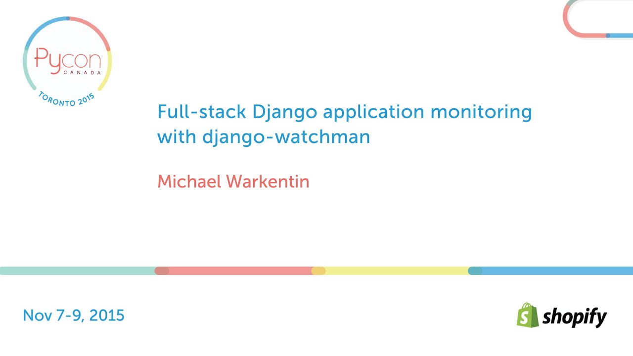 Image from Full-stack Django application monitoring with django-watchman