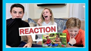 KIDS  REACT TO OUR MOST VIEWED VIDEO (exploding watermelons)   | *SURPRISE ENDING*