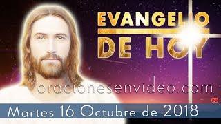 Evangelio de Hoy Martes 16 Octubre 2018 Dad limosna de lo de...