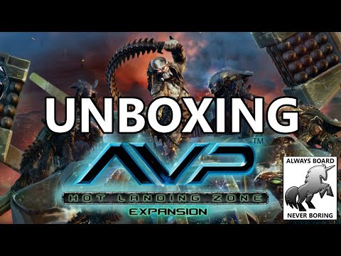 AvP: Hot Landing Zone Expansion Unboxing and Initial Thought