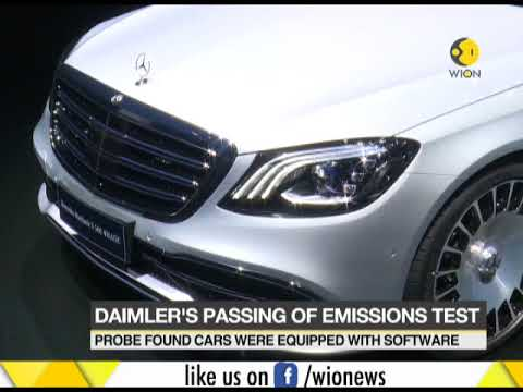 Daimler's passing of emission test; probe found cars were equipped with software