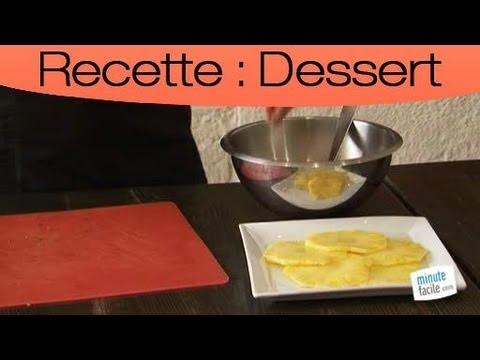 recette-:-carpaccio-d'ananas-à-l'huile-d'olive
