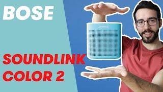 BOSE SoundLink Color II - Análisis y review (español)