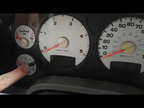 How To Reset Gauge Cluster 2003-2009 Dodge Ram