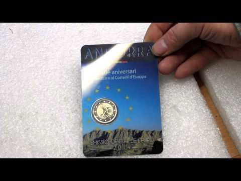 Euro Coins 2016: Andorra, Spain