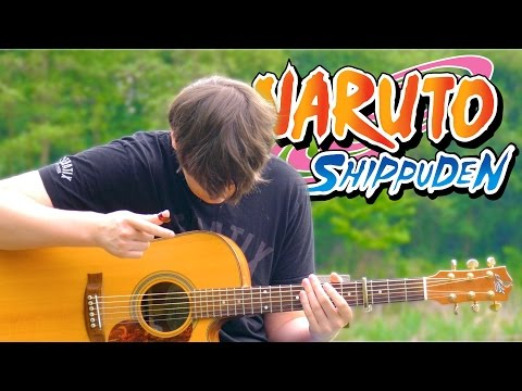 Naruto Shippuden Opening 19 - Blood Circulator - Fingerstyle Guitar Cover