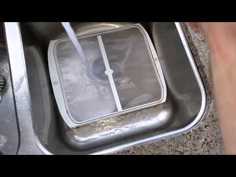 Cleaning Dryer Lint Screen