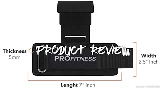 ProFitness Weight Lifting Hook W/Wrist Strap - Heavy Duty Steel Hook PRODUCT REVIEW
