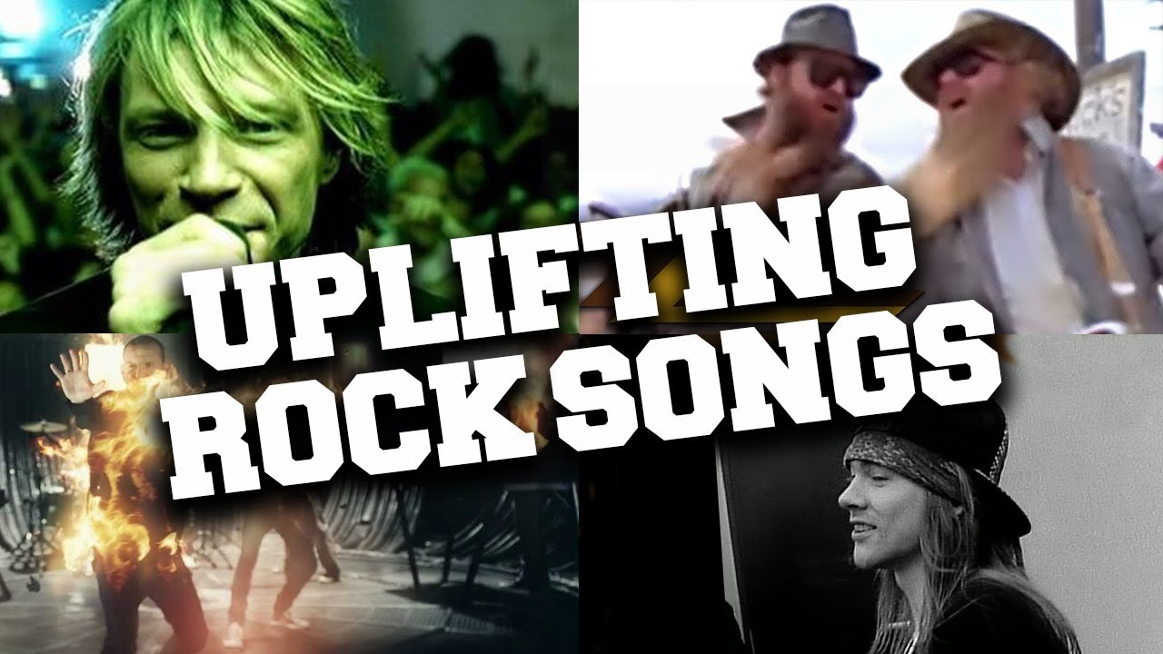 Top 50 Most Listened Uplifting Rock Songs in June 2020