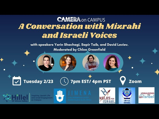 A Conversation with Mizrahi and Israeli Voices
