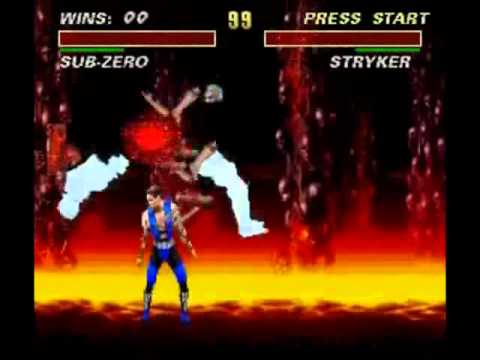 Ultimate Mortal Kombat 3 - Fatalities (Arcade, Snes, Mega Drive)