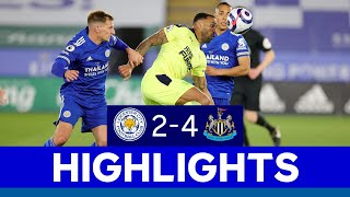 Magpies Defeat Foxes At King Power Stadium | Leicester City 4 Newcastle United 2 | 2020/21