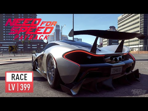 Need For Speed Payback - McLAREN P1 Race LV399 Is A Very Quick Well Balanced Car