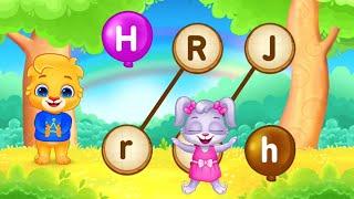 Draw Small Letters abc -  Alphabet  Pre KG LKG Nursery Tutions  Kids Videos #CovidHolidyClasses