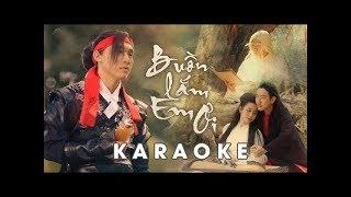 Buồn Lắm Em Ơi | Karaoke | Trịnh Đình Quang Official