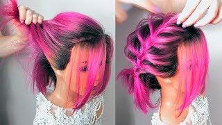 ПРИЧЕСКИ. Свадебная Прическа на Короткие волосы (до плеч) Short Hairstyles ©LOZNITSA