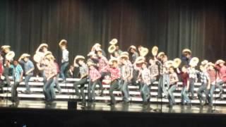 "AJ Carmel High School Spring Men's Counterpoints Choir, ""Hey Good Lookin'"""