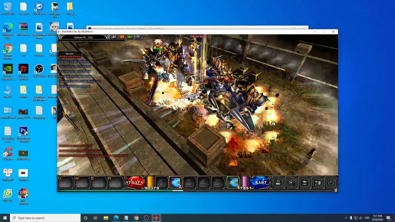 Hướng Dẫn Auto nhặt đồ trong Game Mu online (  Muwar.vn ) | AnGM Youtuber