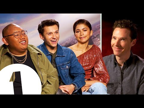 Tom Holland reacts to Benedict Cumberbatch's impression - Plus Zendaya on her 'indifferent' face.