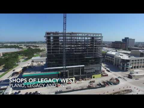 August 2016 Plano and Frisco Texas Construction Update