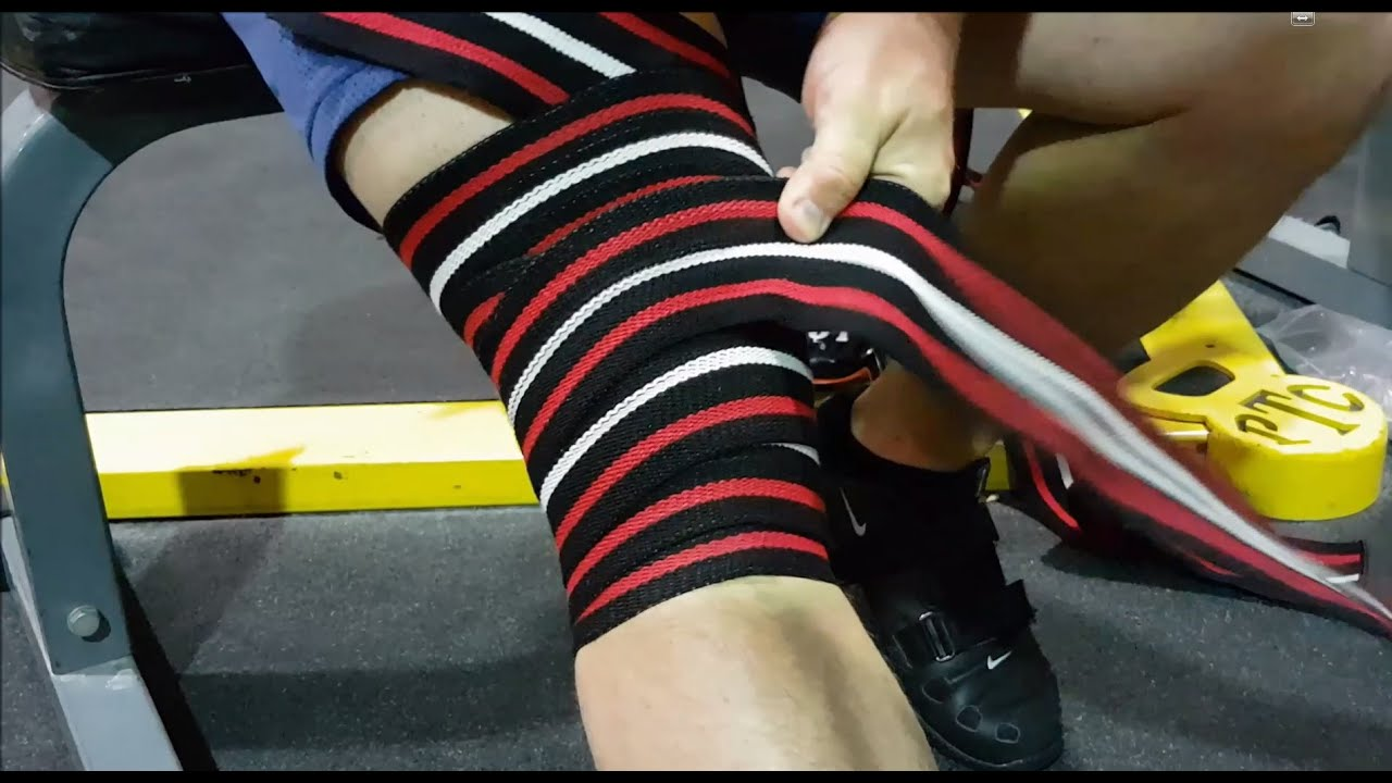 7bb2cafcbe Tutorial (HD): How to wrap Death Adder Knee Wraps - YouTube