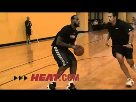 LeBron James Workout (HEAT.com)