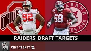 Raiders Draft Rumors: 12 Alabama & Ohio State Players To Watch In The 2021 CFP National Championship