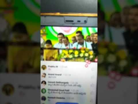 Hd Kumaraswamy Speech about hiriyur MLA candidate