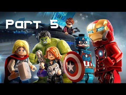 LEGO Marvel's Avengers Walkthrough Part 5 - Avengers Assemble (1080p60 Gameplay)
