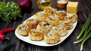 Как приготовить рулеты с сыром и шпинатом - Рецепты от Со Вкусом