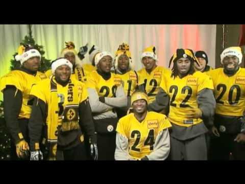 Pittsburgh Steelers players singing Christmas Carols - YouTube d0a7b403e