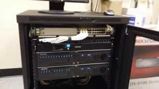 32 analog plus 6 poe ip hikvision 3mp cameras using hybrid nvr s ds 9016 setup by intellibeam com