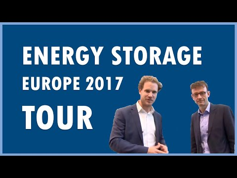 Trade Show tour at Energy Storage Europe 2017: innovative storage products