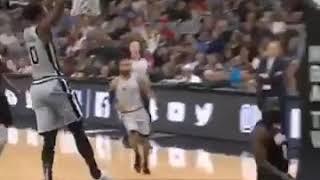 Funny basketball match