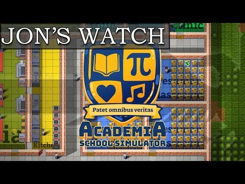 Most Accurate Slogan Ever (Jon's Watch - Academia : School Simulator)