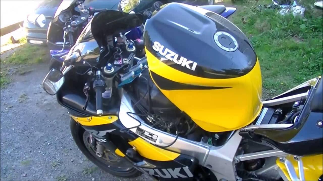 2001 GSX R 750 Throttlebody Sync