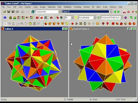 Stella, Polyhedron Navigator: creating new compounds