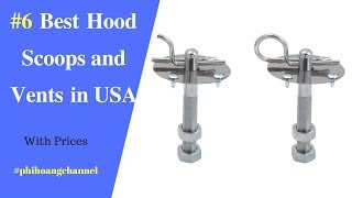 Top 6 Best Hood Scoops and Vents  in USA – Best Car Products Amazon