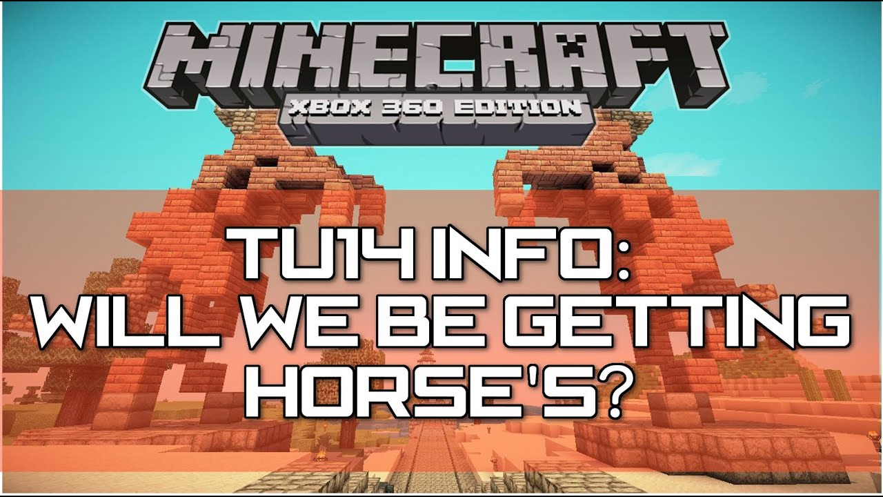 how to get horses on minecraft xbox 360