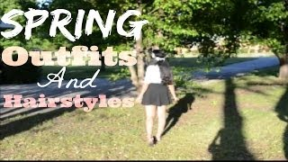 Spring Outfits and Hairstyles Thumbnail
