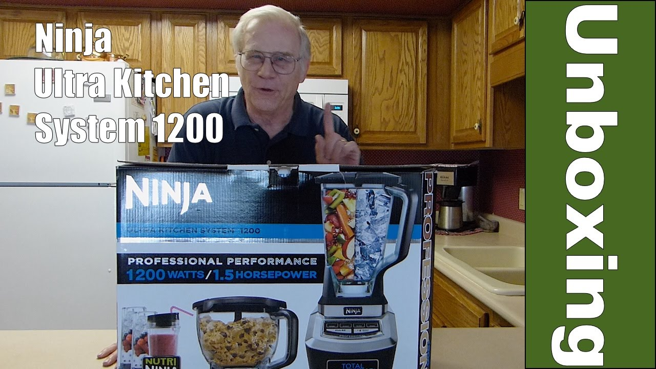 Ninja Ultra Kitchen System 1200 Unboxing and Overview - YouTube