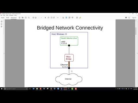 NAT, Bridged and Internal Networking in VirtualBox - YouTube