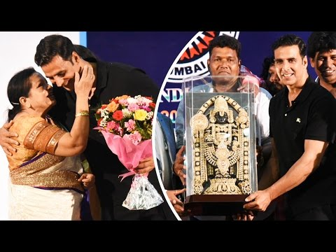 Full Video: Akshay Kumar Gets Felicitated By Movie Stunt Artist's Association