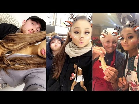 Ariana Grande | Cooking with her boyfriend Mac Miller | Best Funny Moments of Ariana