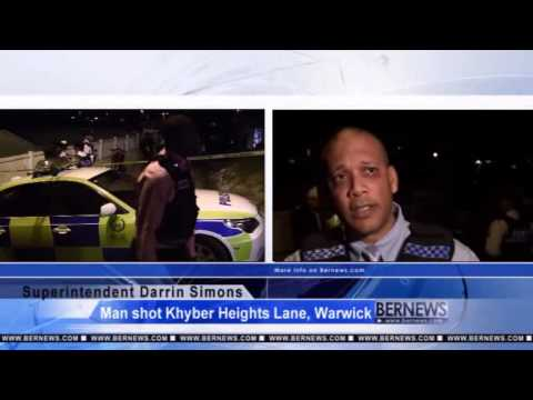 Man Injured In Warwick Shooting,  January 16 2013