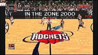 NBA in the Zone 2000 Houston Rockets vs San Antonio Spurs Game 03