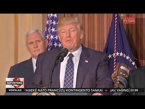 Donaldas Trumpas naikina Baracko Obamos klimato kaitos planą