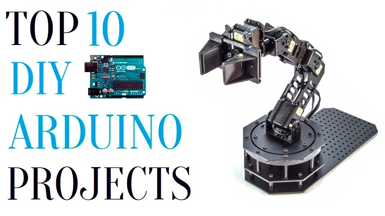 Top 10 diy arduino projects youtube solutioingenieria Image collections