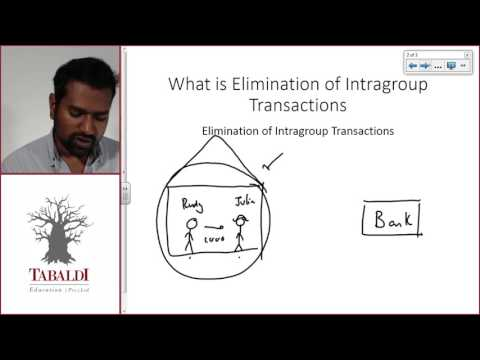 FAC3704 - LU1B - L1 - Introduction to Inter-company Elimination